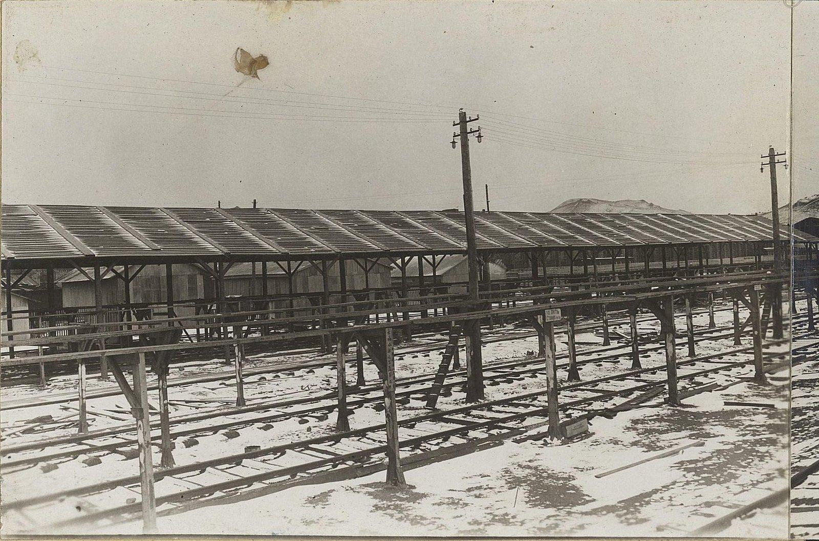 13. Третий отдел со стороны паровозного депо Уссурийской железной дороги