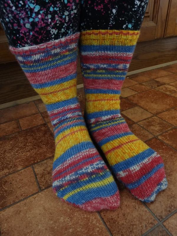 Chrysanthemum Socks