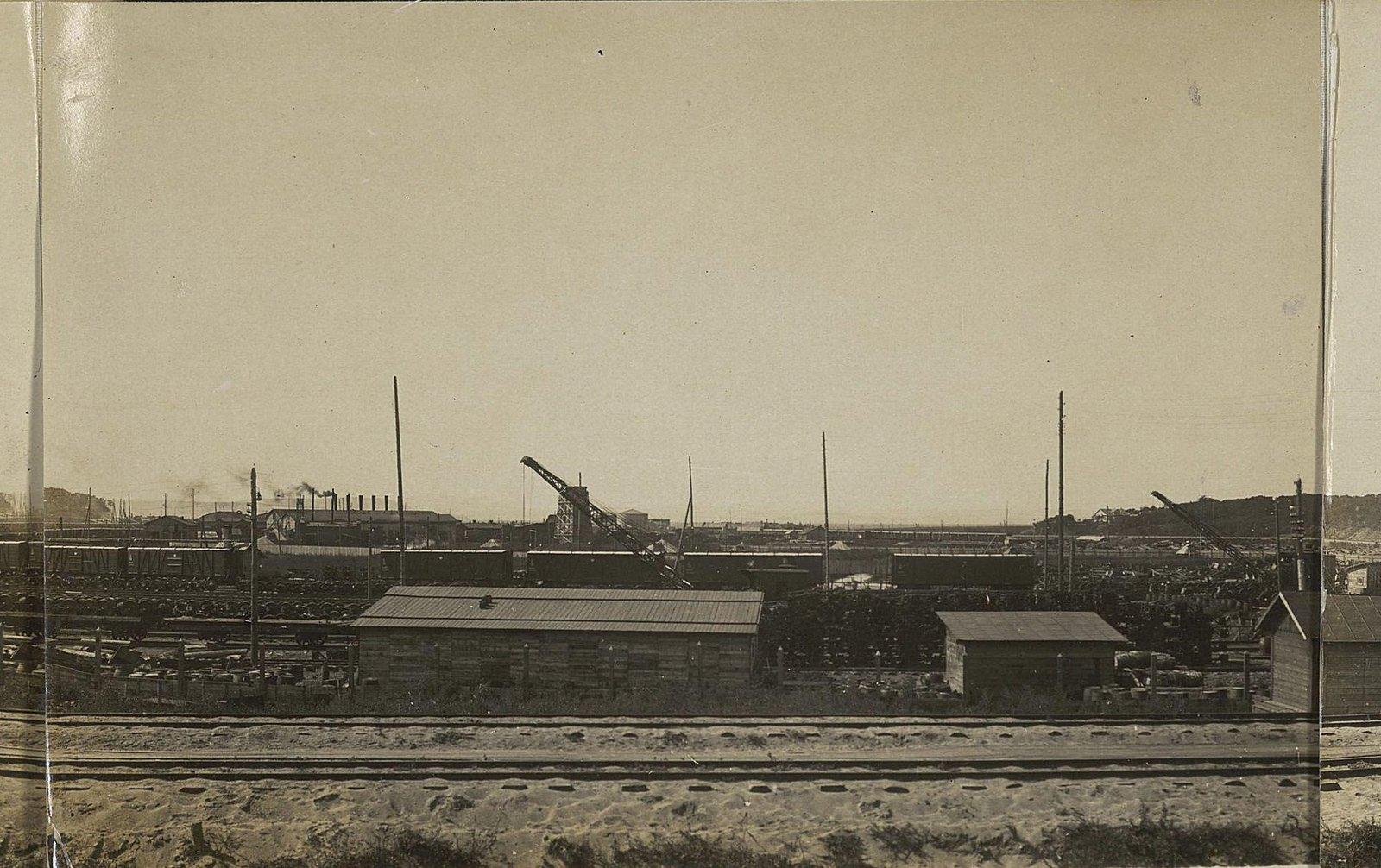 08. Первый отдел со стороны главного пути Уссурийской железной дороги