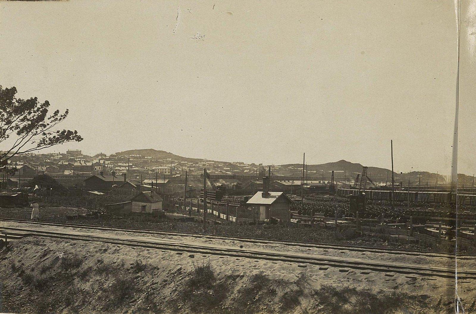 07. Первый отдел со стороны главного пути Уссурийской железной дороги