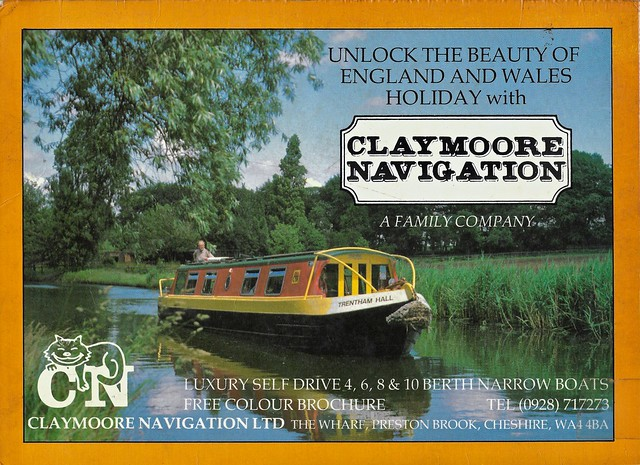 Advert for Claymoore Navigation.
