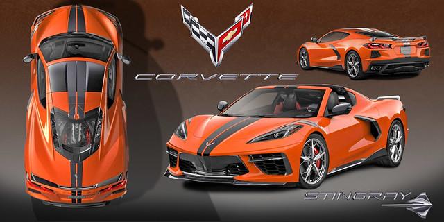 Corvette Mid-Engine 2020