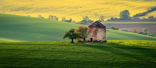 Kunkovicky vetrny mlyn