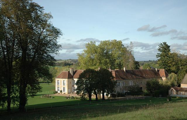 Château de Sury à Saint-Jean-aux-Amognes (Nièvre)