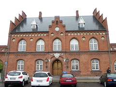 Arquitectura tradicional danesa, Copenhaguen, Dinamarca.