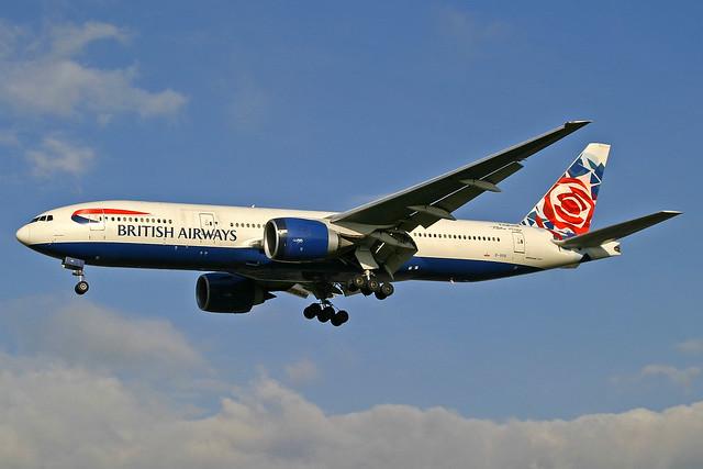 British Airways Boeing 777-236(ER) G-VIIS
