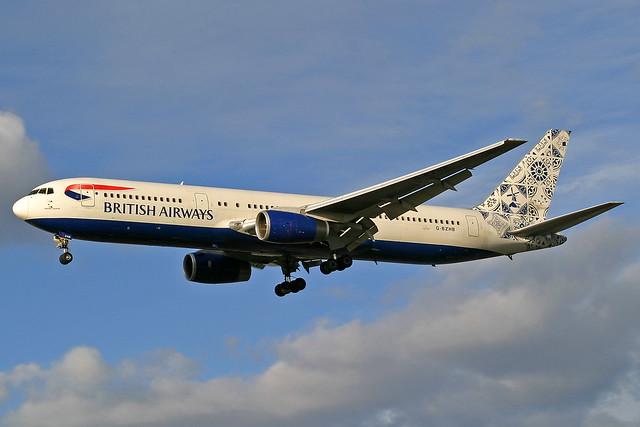 British Airways Boeing 767-336(ER) G-BZHB