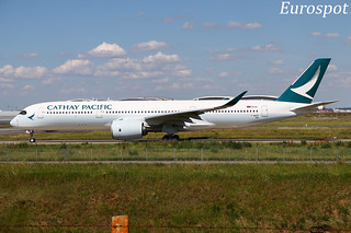F-WZFD Airbus A350 Cathay Pacific