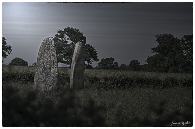 Menhirs d'Epoigny (71) - on Explore 2020 May 28th