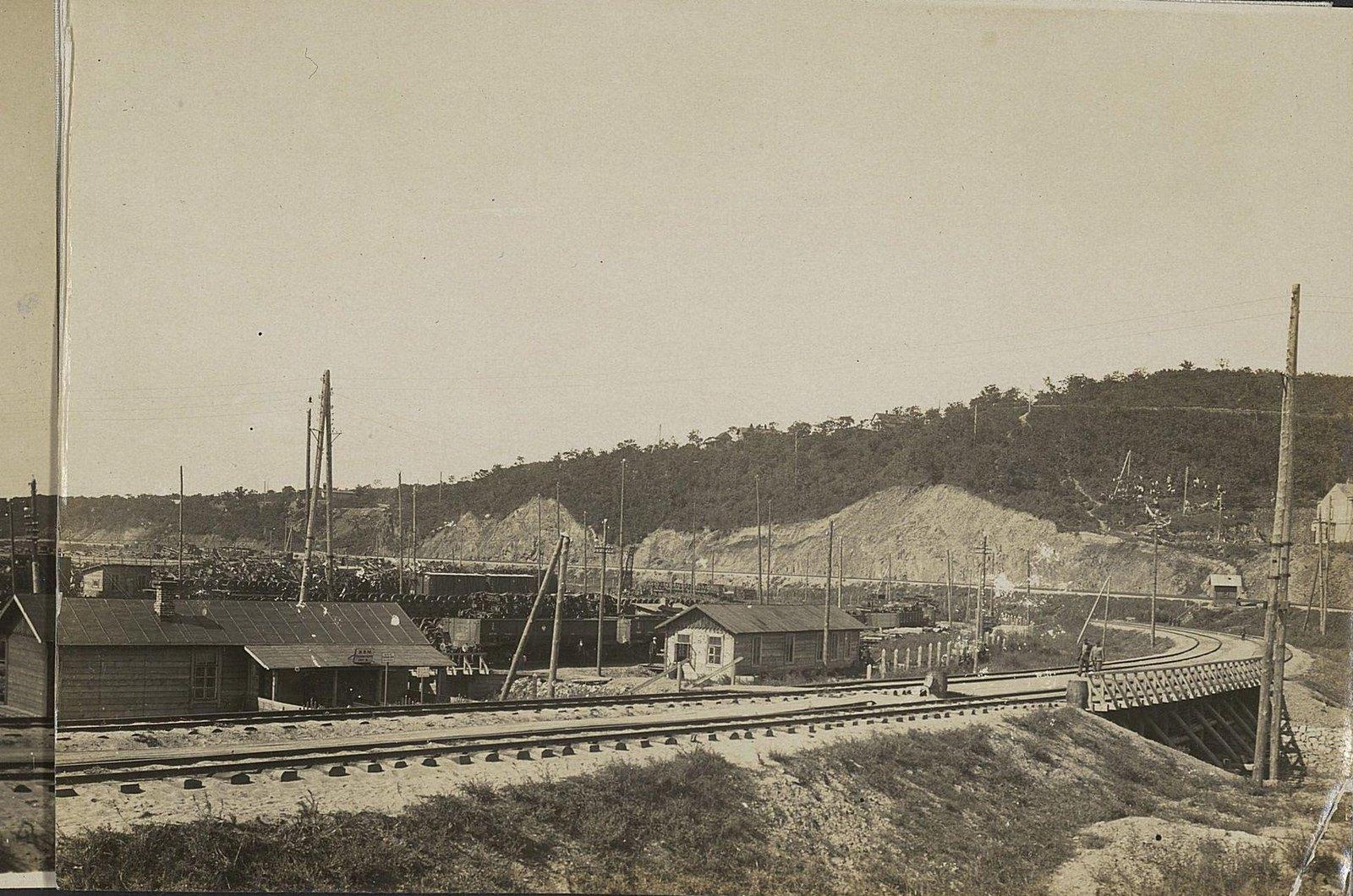 09. Первый отдел со стороны главного пути Уссурийской железной дороги