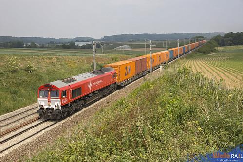 DE 6302 . Crossrail . Z 43432 . Berneau . 27.05.20.