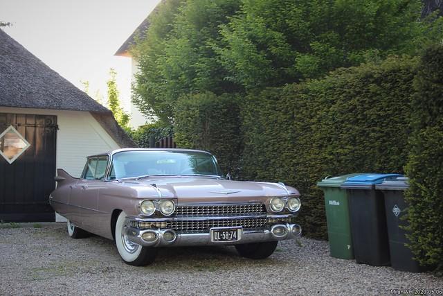 Cadillac Sedan de Ville 1959 (DL-58-74)