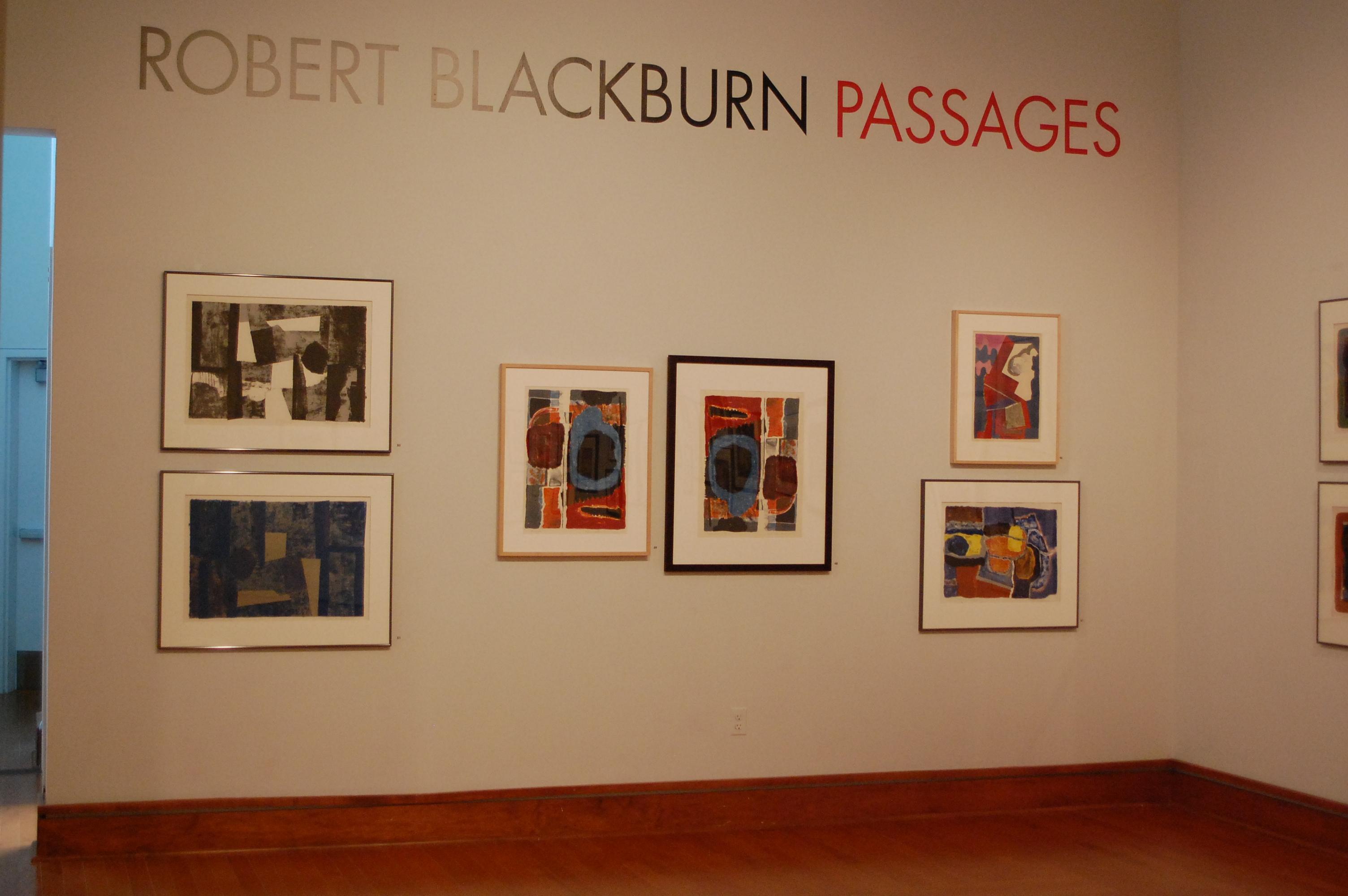 Robert Blackburn Passages