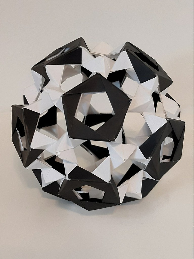 30 Unit PHiZZ Ball (modular Origami) : 3 Steps (with Pictures ... | 1024x768