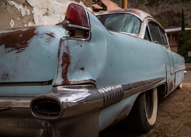 56' Caddy Rear