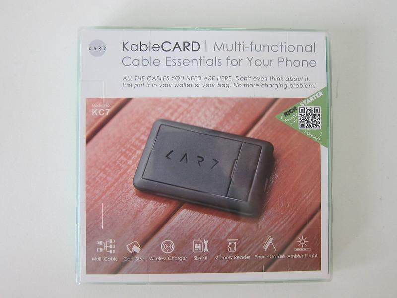 KableCard (KC7) - Box Front