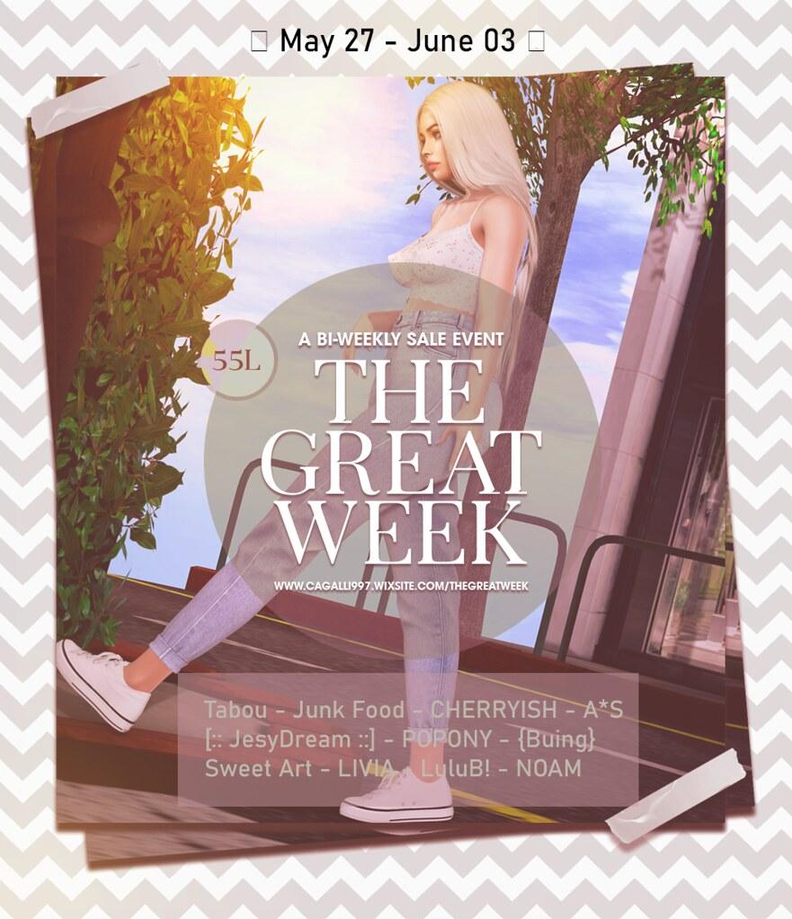 THE GREAT WEEK Sale 55L$ is open !!!
