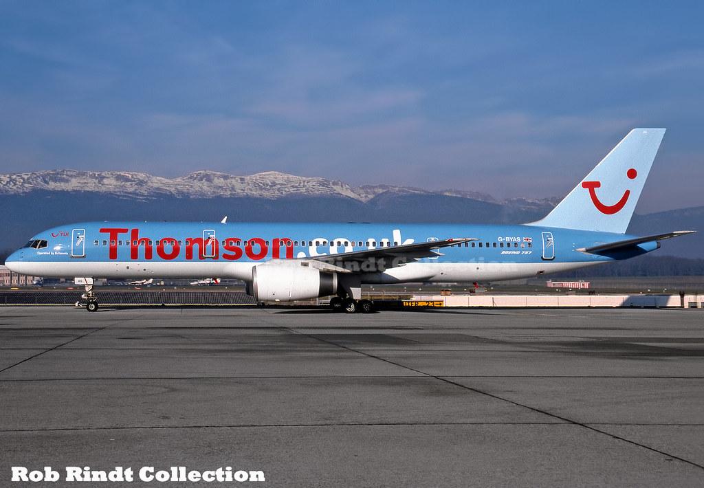 ThomsonFly (TUI) B757-204 G-BYAS