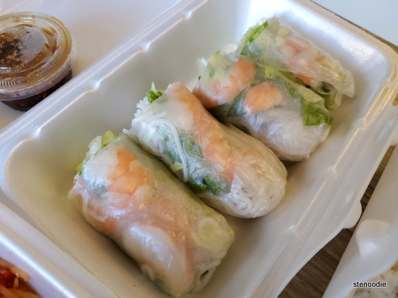 Shrimp Fresh Rolls