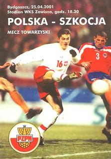 Poland v Scotland 20010425