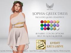 [Ari-Pari] Sophia Greek Dress