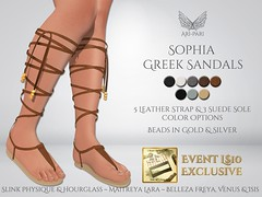 [Ari-Pari] Sophia Greek Sandals