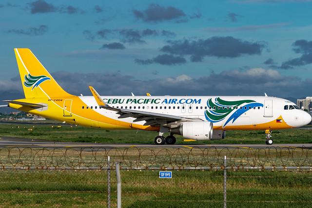 Cebu Pacific Air - Airbus A320-214 / RP-C4104 @ Manila
