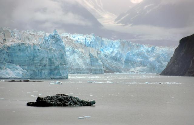Hubbard Glacier. Alaska.