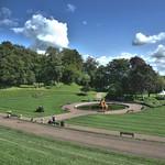 Sunlit Miller Park at Preston