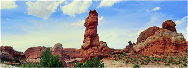 Arches Nationalpark - Panorama, Utah