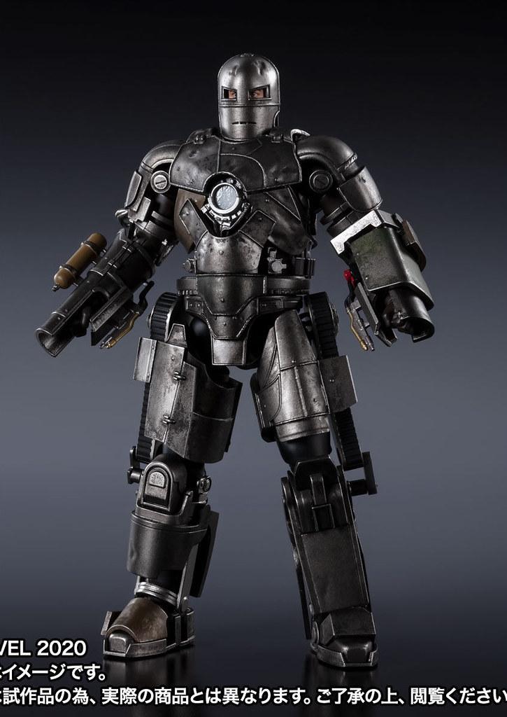 鋼鐵人的起點,一切都從這裡開始! S.H.Figuarts《鋼鐵人》「鋼鐵人馬克1」アイアンマン マーク1 -《Birth of Iron Man》 EDITION-(アイアンマン)【魂商店】