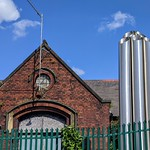 Sewage pumping station at Ashton, Preston
