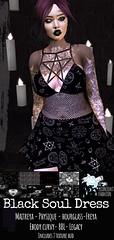 ::AMF:: Black Soul Dress AD