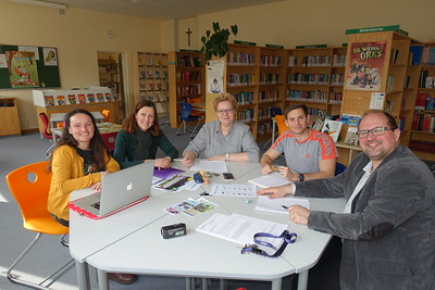Bredon Hill Academy staff on Erasmus+ placement