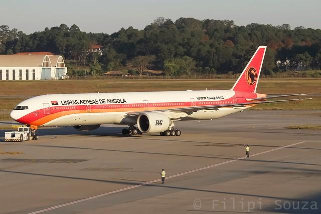 D2-TEG - TAAG Linhas Aéreas de Angola - Boeing 777-3M2ER