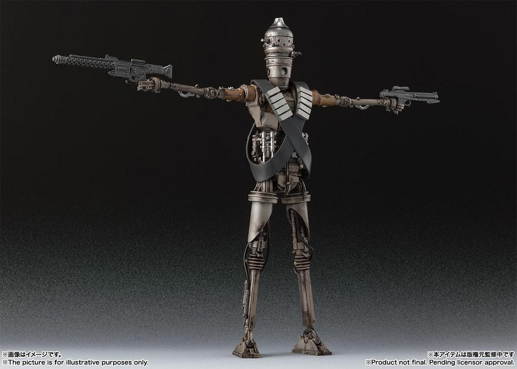 從戰鬥機器人變成最強褓姆!! S.H.Figuarts《曼達洛人》IG-11(STAR WARS:The Mandalorian)