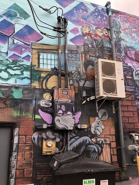 IMG_6554 Electrical Mural Royal Oak, Michigan 10-29-19