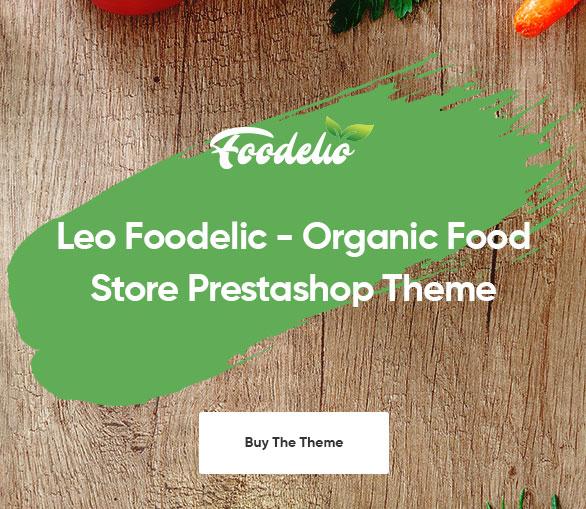 purchase it-Leo Foodelic Organic Food Store Prestashop Theme
