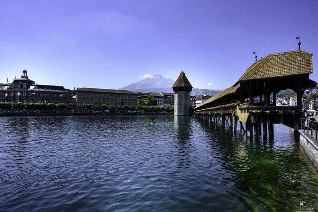 Kapellbrücke in Luzern - Switzerland