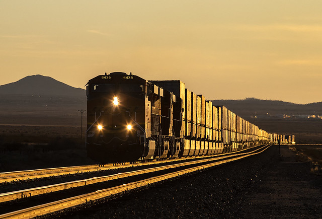 BNSF 6435 E Q LACSTL1 15A Walapai, AZ