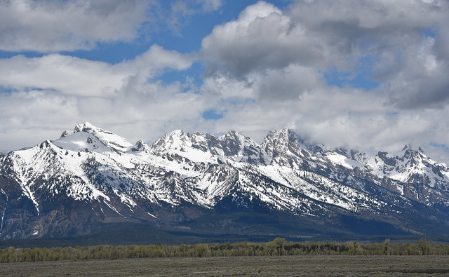 Grand Teton Mountain Range