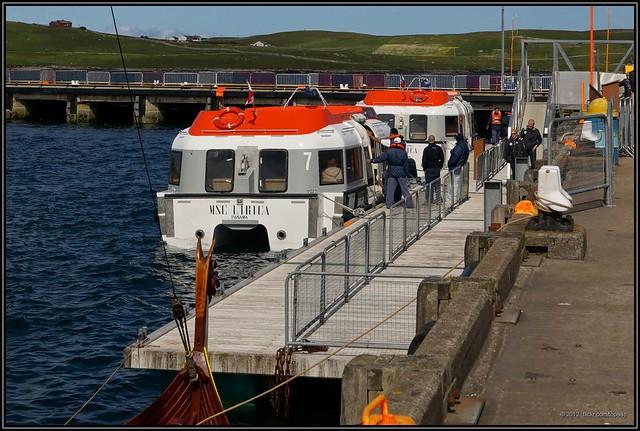 2012-07-18 Shetland Islands - Tender MSC Lirica - 10