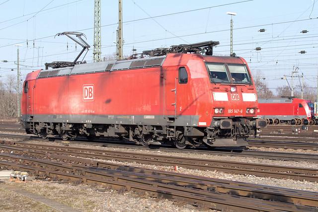 DB Cargo 185 147 Basel Badischer Bahnhof