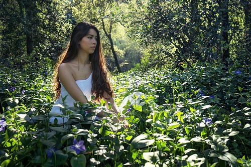 cupertino california siliconvalley usa sanfranciscobay sanfranciscobayarea southbay stevenscreektonylooktrail stevenscreek park woman dress white whitedress sit dream nature flower field outdoor backlight sunset sony sonya7r a7r a7rii a7rmii alpha7rmii ilce7rm2 fullframe fe2870mmf3556oss 3xp raw photomatix hdr qualityhdr qualityhdrphotography fav100