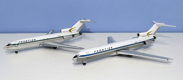 Arrow Jets: Frontier Airlines Boeing 727s