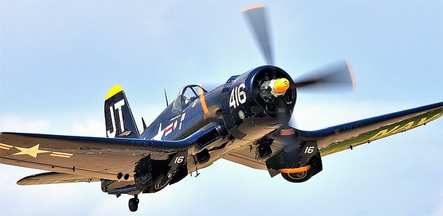 Vought F4U-4 Corsair Bu 97143 N713JT