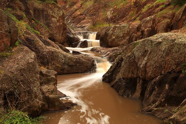 Sturt Gorge Cascades