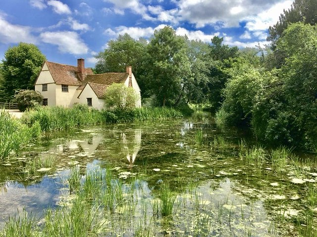 Willy Lott's Cottage, Flatford Mill.