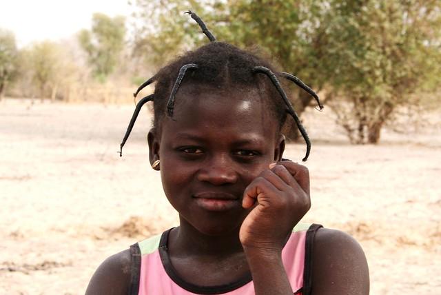 Enfant burkinabée