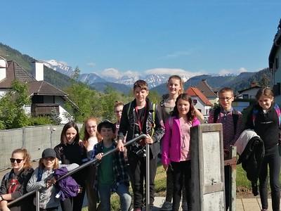 Bredon Hill Academy pupils on Erasmus+ exchange in Austria